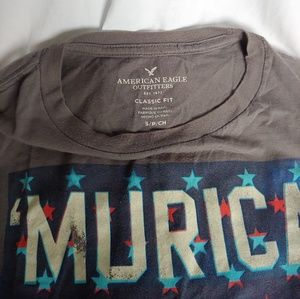 "American Eagle Outfitters Shirts - American Eagle Outfitters "" MURICA "" T-SHIRT"